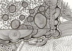 """toolbox"", #india    #ink   #drawing   (#PITT #artist #pen Faber-Castell ) auf #Hahnemuehle   #paper  ""Nostalgie"", 21 x 30 cm, © #matthias #hennig 2014"