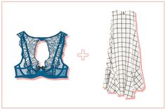 Shift dresses are the easiest summer silhouette out there. And while they may be simple, what lies beneath can be an entirely different story: A colorful, lacy high-neck bra adds an unexpected edge to your everyday frock. #refinery29 http://www.refinery29.com/best-bras-for-any-dress#slide-4