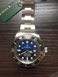 Rolex Sea Dweller Deep Sea Blue - Newest Collection - Amazing Piece to OWN !