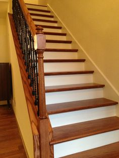 Best Laminate We Installed On The Stairs With Rubber Stair 640 x 480