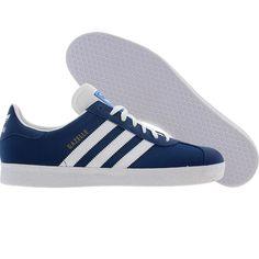 info for f035a 218e3 Adidas Gazelle 2 (lone blue  white  gold) V24414 - 64.99
