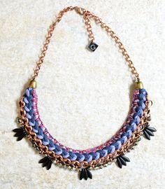 Hippie Statement Halskette, Tribal Collier