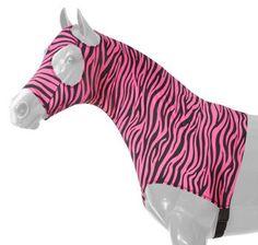 Ms. Daezy Mae wears the Neon Pink Zebra set