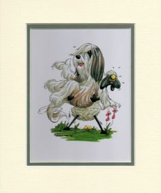 Mini-Print-Bearded-Collie-1-by-Mike-McCartney