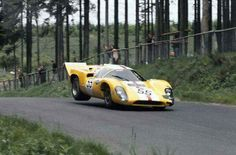 1969 Nurburgring 1000 km : Jo Bonnier, Lola-Chevrolet GT ( Ecurie Bonnier & Scuderia Filipinetti, Retired (drive shaft, lap (w/Muller). Le Mans, Sports Car Racing, Sport Cars, Road Racing, Auto Racing, Gt Cars, Race Cars, Nascar, Grand Prix