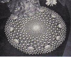 Free Crochet Spider Web Doily