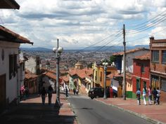 Bogota, the capital of Colombia, a city of 7 million people