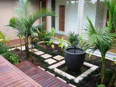 Outdoor , Asian Outdoor Design Welcoming Your Guests In Sweet Eastern Culture : Simple Landscaping For Asian Ourdoor Idea