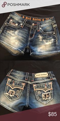 Rock revival shorts Like new only warn a cuple times lost wight and don't fit! Rock Revival Shorts