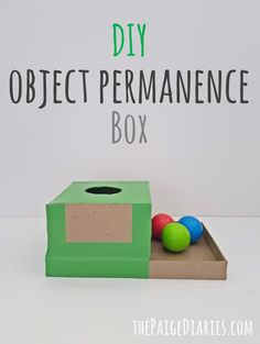 DIY Object Permanence Box – The Paige Diaries