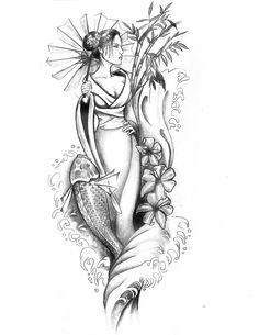 pour imprimer ce coloriage gratuit coloriage geisha japonaise tatoo cliquez sur l 39 ic ne. Black Bedroom Furniture Sets. Home Design Ideas