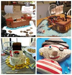 The Busy Budgeting Mama: Featured Client - Pirate Party Theme Inspiration Board