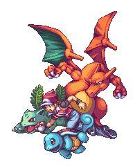 Awesome pixel art - Pokemon Trainer