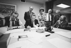 The 1973 jury. © Bart Nieuwenhuijs