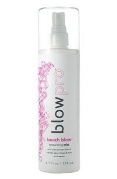 "Short hair girls (and guys!) can benefit from a surf spray like BlowPro Beach Blow Texturizing Mist. ""If you have natural wave and texture, spritz beach spray on damp hair and give it a scrunch for added texture,"" says Heath. ""If your hair is straight, blow it dry with a volumizing mousse using just your fingers.""  #hairtip"