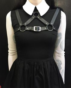 Emily dresses and collness harnesses are back in stock and on sale! Moving sale ends tonight Edgy Outfits, Cool Outfits, Fashion Outfits, Womens Fashion, Alternative Outfits, Alternative Fashion, Dark Fashion, Gothic Fashion, Mode Inspiration