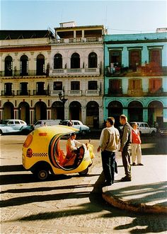 cuba! i want to go there before we're allowed to go there