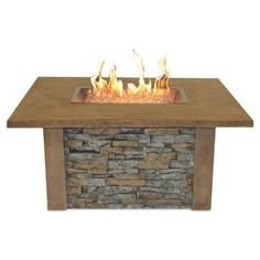Outdoor GreatRoom Sierra Gas Fire Pit Table - Fire Pits at Hayneedle