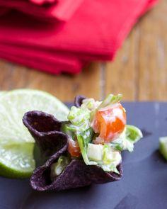 Mexican Caesar Tortilla Bowls #gardenofeatin #spon