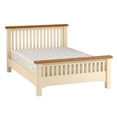 Buy Schreiber Provence Kingsize Bed Frame White at Argoscouk