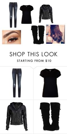 """""""Day923"""" by www-ychavez ❤ liked on Polyvore featuring True Religion, Topshop, VIPARO, Gabriella Rocha and Lancôme"""