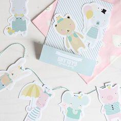 More new products in stock! #garland #eeflillemor #psikhouvanjounl #styling #stylist #wholesale #pastel #illustrator #nursery #kinderkamer #inspiration #present