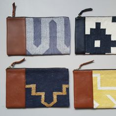 20180924_132154 Dhurrie Rugs, Pouch, Wallet, Blush And Gold, Gold Material, Soft Leather, Organic Cotton, Hand Weaving, Coin Purse
