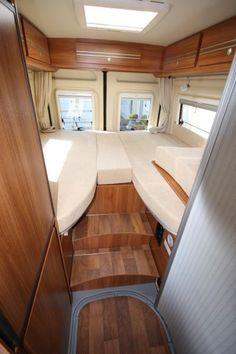 Van Conversion, single beds - Campscout- Poessl/Globecar - Image 2