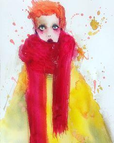 田代知子(Tomoko Tashiro) tashirotomoko.com February 2018 It's my new work. #tomokotashiro #art #watercolor #drawing #woman #illustration #田代知子 #絵画 #イラストレーション Illustration, Disney Characters, Fictional Characters, Drawing, Disney Princess, Artist, Artists, Sketches, Illustrations