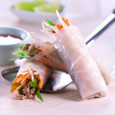 Children love finger foods, and these easy spring rolls are a great way to get extra vegies into their day
