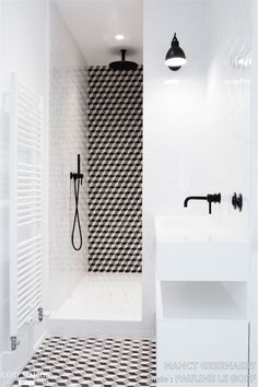 Small Bathroom Renovations 460211655663640620 - carrelage douche Source by Bad Inspiration, Bathroom Inspiration, White Bathroom, Small Bathroom, Bathroom Ideas, Black Bathrooms, Bathroom Caddy, Bathroom Sinks, Bathroom Cabinets