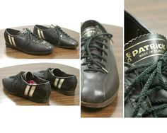 PATRICK 60s Vtg Chaussures Vélo Vintage Fixie Single Speed -type Quoc Pham -P.36