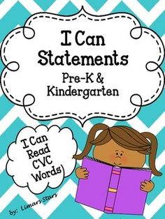 """The most commonly taught skills in pre-k and kindergarten, all in cute little mini-posters!  These anchor charts are a weekly life saver!  You can switch them out and rotate them all year long!  Here is what you get:The Following 4 Headers:This Week We're Learning:ELAMath Science30 """"I Can"""" Mini PostersUpdated 3/28/2014!"""