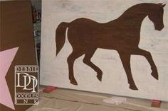 Birthday Party backdrop for a cowgirl theme party! This is center backdrop for the birthday party. Horse is flanked by stars with the two party girl's ages. (scheduled via http://www.tailwindapp.com?utm_source=pinterest&utm_medium=twpin&utm_content=post11