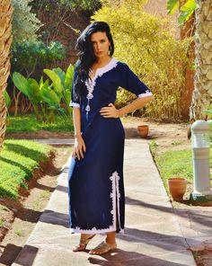 Ce caftan Caftan marocain est si confortable, il est certainement l'idée pour porter pendant le week-end, ou lorsque vous voulez tout simplement vous détendre à la maison. Bien que ce caftan est vraiment confortable, parce que le style est si élégant, il pourrait être porté pour une