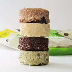 Emmys Organics Macaroons: Raw, Vegan, Gluten-Free, Dairy-Free - So many amazing flavors to choose from in these super tender treats! Our favorites were the intense, creamy Vanilla, super fragrant Chai Spice, and not so traditional Chocolate Chip.