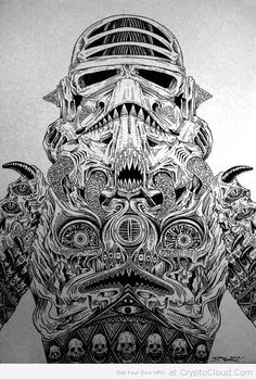 Star Wars Storm Trooper From Hell