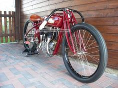 Indian board track racer