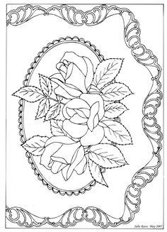 Pergamano šablony - free pattern - Kateřina Horáková - Álbuns da web do Picasa Paper Embroidery, Embroidery Patterns, Quilting Patterns, Colouring Pages, Coloring Books, Free Coloring, Pattern Art, Free Pattern, Vellum Crafts