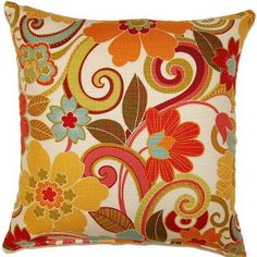 Zavalla Rainbow Throw Pillow Set. This is exactly what im looking for!