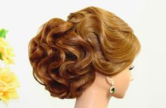 Hairstyles for medium hair. Updo hairstyles. Bridal wedding hairstyles