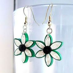 supplier of paper quilling earrings ,envelope,rings