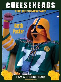 Funny, but... The Packers are generally viewed as representing everything good, so perhaps a Jedi Packer might be more appropriate.