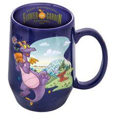Disney Park Epcot Festival Flower & Garden 2016 Figment Ceramic Coffee Mug New #DisneyWorld #Epcot #Flowerandgardenfestival #figment
