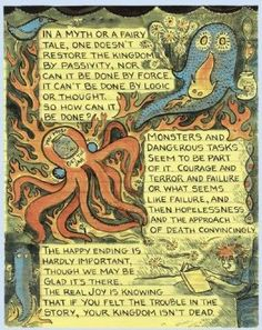 Lynda Barry, from What It Is (2007).