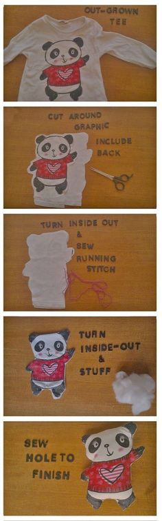 riciclare abiti bambini tshirt