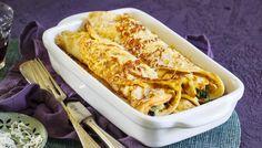 Ofenpfannkuchen mit Spinat und Gorgonzola | Simply Yummy