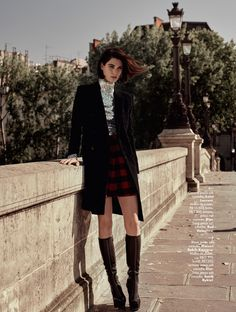 visual optimism; fashion editorials, shows, campaigns & more!: paris, te amo: manon leloup by nicole heineger for l'officiel brasil august 2015