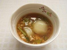 かぶの生姜あんかけ煮