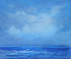 Cornish Coastal 1 by Gill Baxter Oil on canvas
